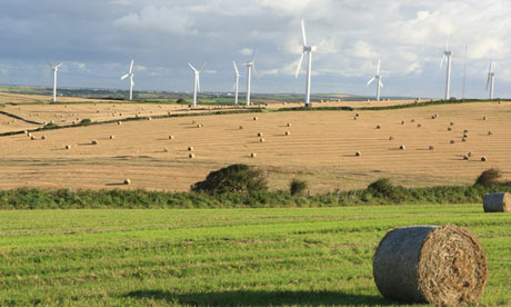 Figure 6: Wind farms can sometimes be the countryside's best friends!